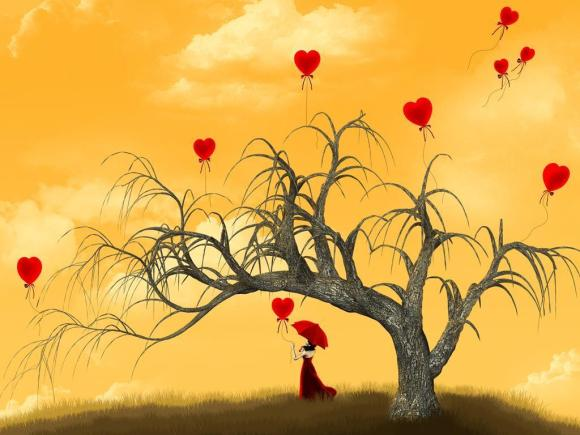 red-umbrella-tree-hearts
